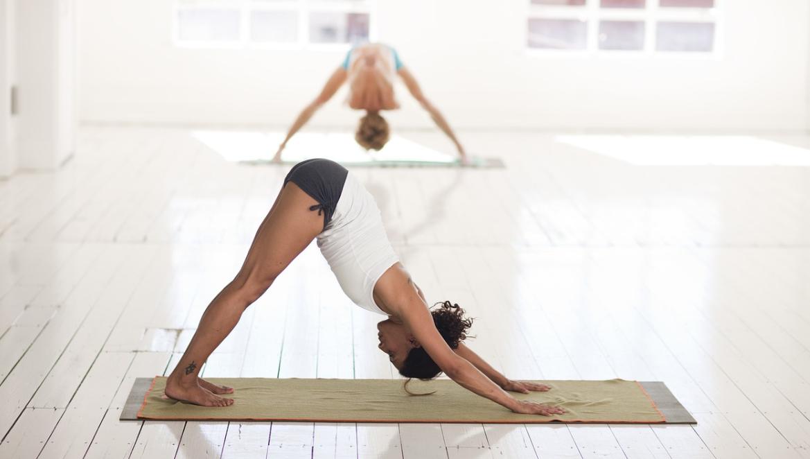 ženy a jóga