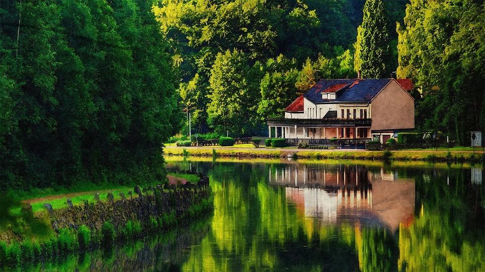 dům u vody