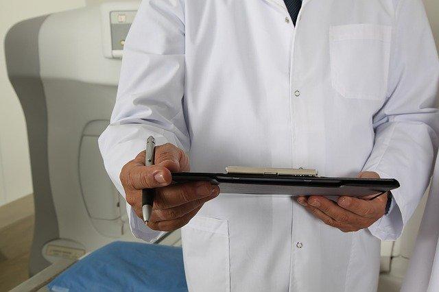 záznam lékaře