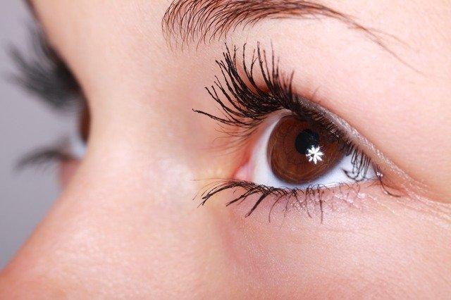 hvězdička v oku