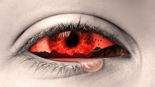 rudé oko