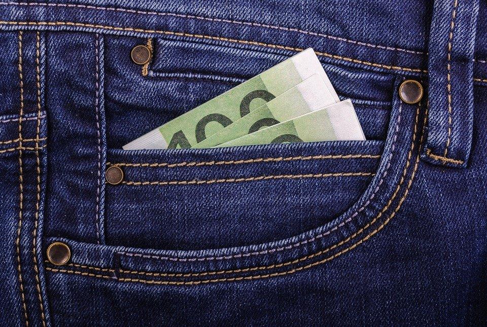 kapsa a peníze